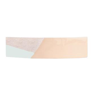 Accessoire cheveux créateur - Barrette rectangle tricolore