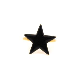 Bijou créateur femme - Petite bague étoile en émail