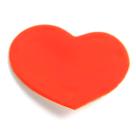 Little woman paris bijou email femme broche coeur rouge