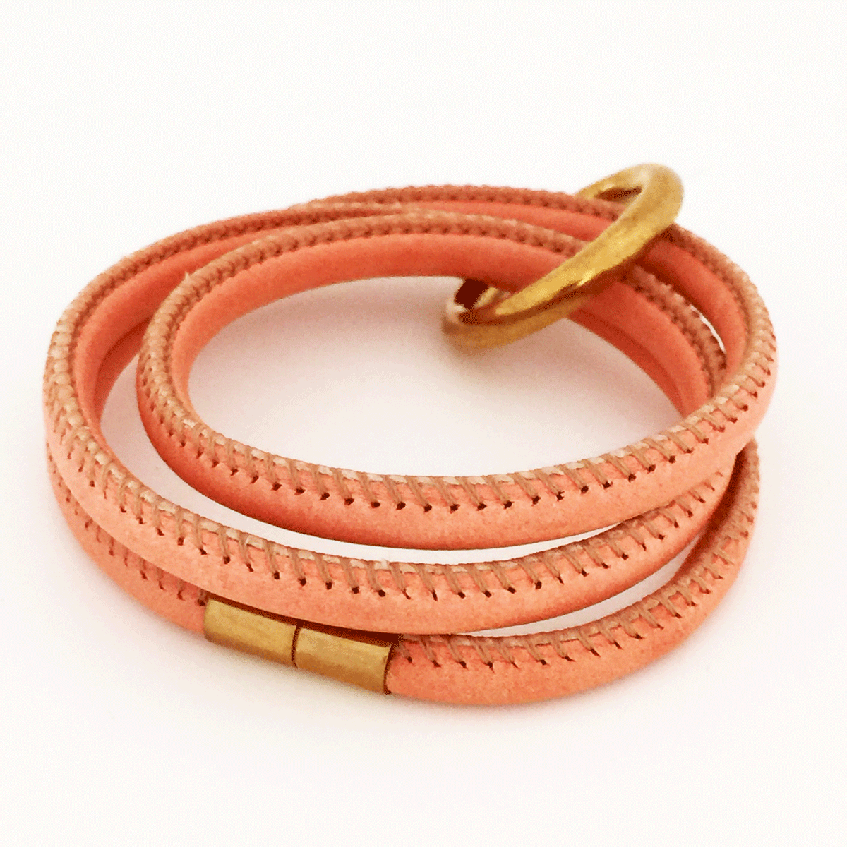 Bijou createur email little woman paris royal blush bracelet