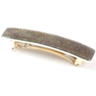Barrette cheveux email little woman paris barrette petite rectangle paillettes