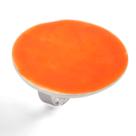 Bijou email femme lilttle woman paris bague ronde orange