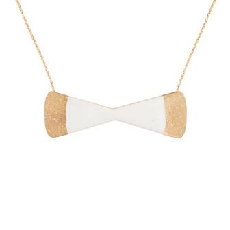 Little Woman Paris bijoux créateur collier noeud doré