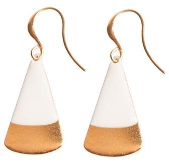 bijoux créateur boucle d'oreille triangulaire
