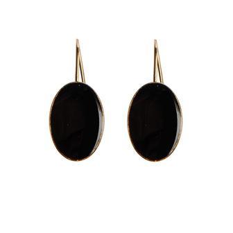bijoux créateur boucle d'oreille ovales