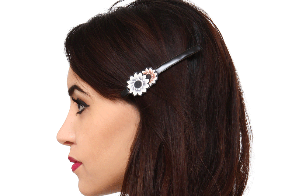 Barrette fine large