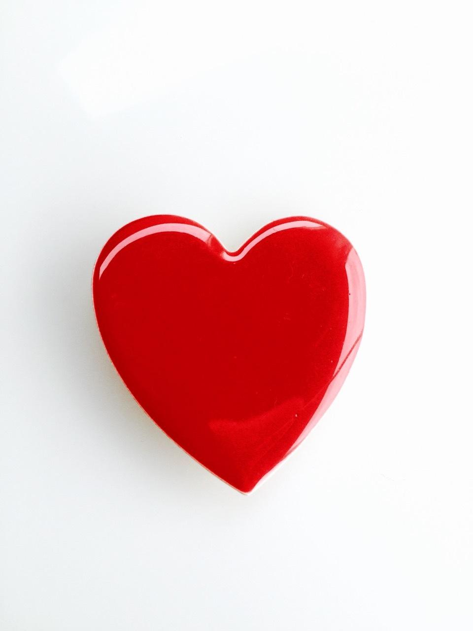 Coeur rouge large