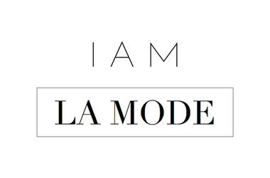 Logo i am la mode article normal