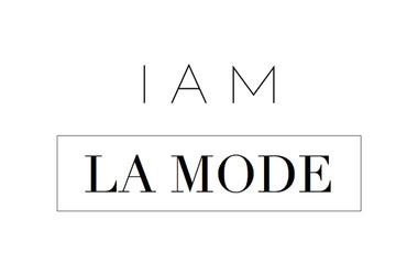 Logo i am la mode article normal