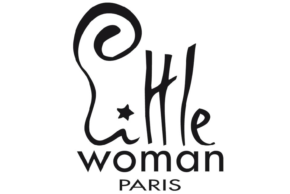 Logo little woman paris bijou email femme large