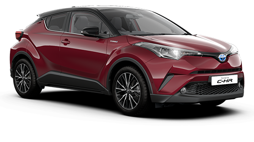 Toyota C-HR Hybrid Red Edition Latest Offers