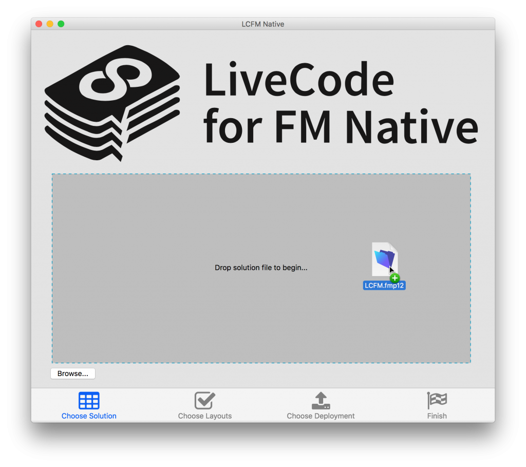 LCFM Native Progress Update with Demo - LiveCode for FM