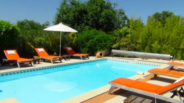 Nice villa with pool in Vallauris for rent