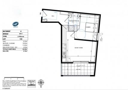 دفع الممتلكات في بيتكوين - شقة للبيع في فرنسا أنتيبس 1704485