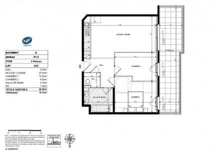 دفع الممتلكات في بيتكوين - شقة للبيع في فرنسا أنتيبس 1704486