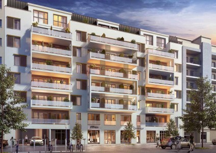 Pronájem bytu 1+kk 22m² - Nice 1707282