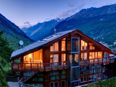 İsviçre'de - Zermatt 300m² Günlük Kiralık daire 1708407