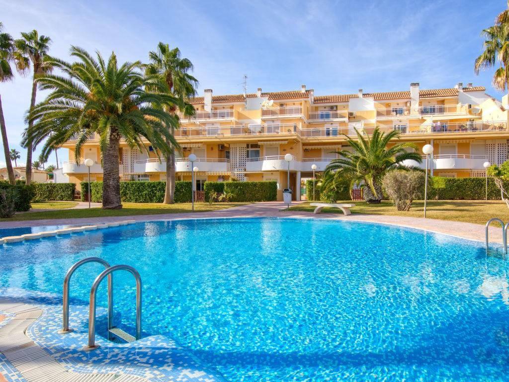 أجر غرفتين 2 حمامات سباحة, غسالة الأواني, موقف سيارات, تراس شقة في دينيا لفترة للإيجازات - ابحت عن عقارات حول العالم للإيجار فترة الإيجازات - قائمة شقة في اسبانيا دينيا