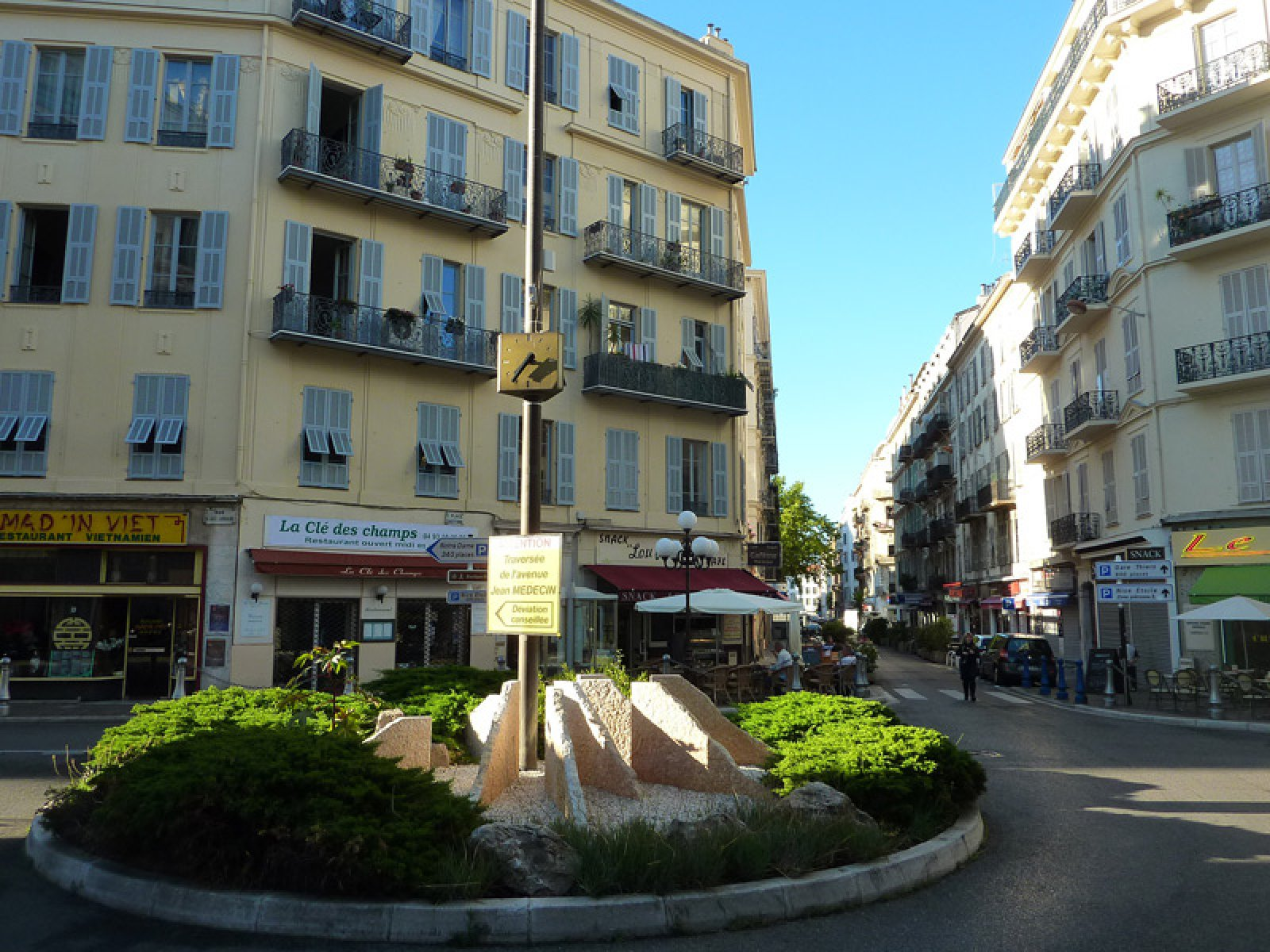 Cosy 3 bedroom apartment with large terrasse in center of Nice