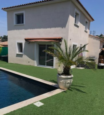 Newly built villa with pool in Mougins