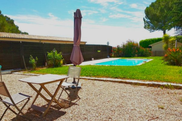 Charming house with pool in Mougins for rent
