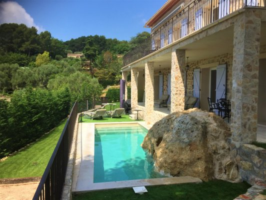 Luxury Villa Walking distance to Village of Mougins for long term rent, France