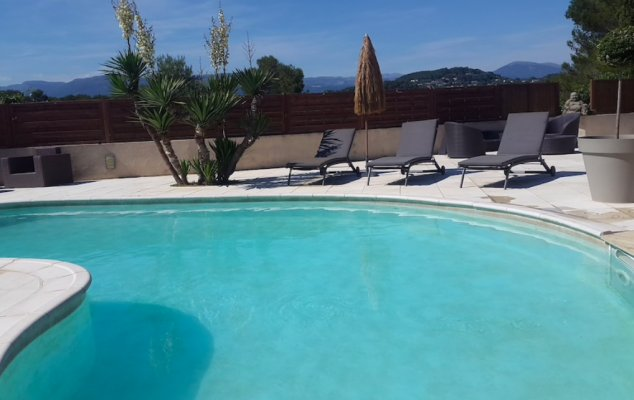 Modern house in Mougins for long term rent