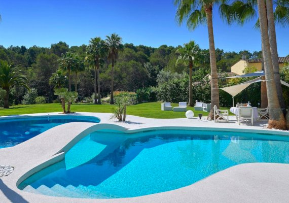 Architect Design Luxury Villa for Rent in Mougins,  French Riviera
