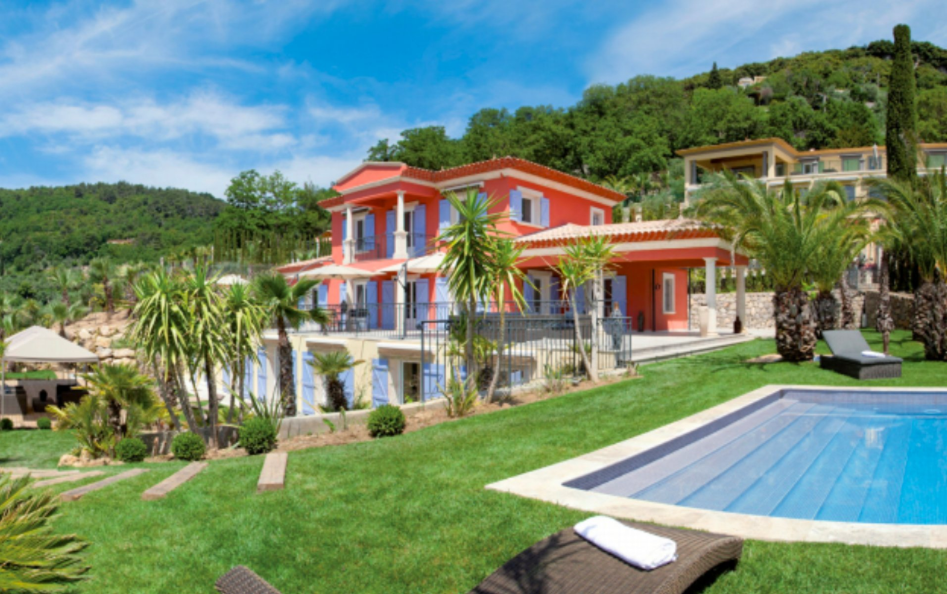 Luxury country house with jacuzzi in Grasse for long term rent