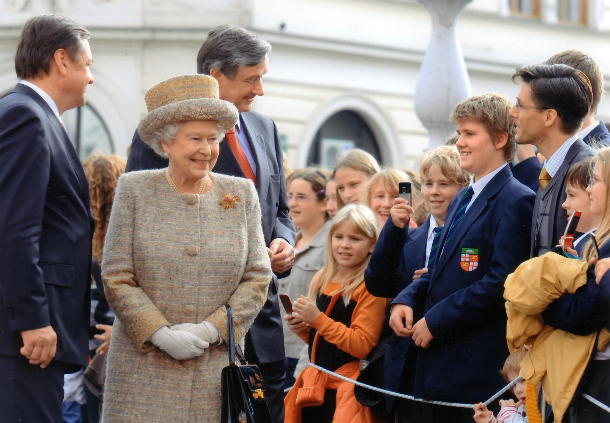 Queens Visit In 2008