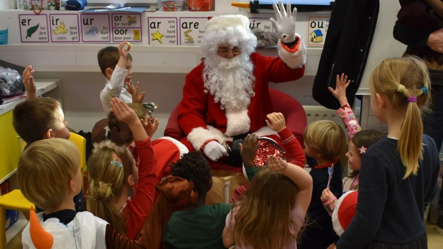 Primary Santa Newsletter