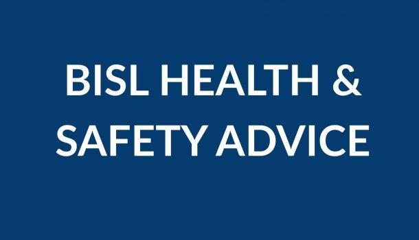 BISL Health Advice