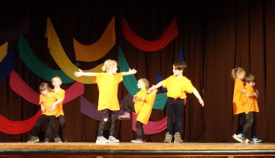 E-motions dance show