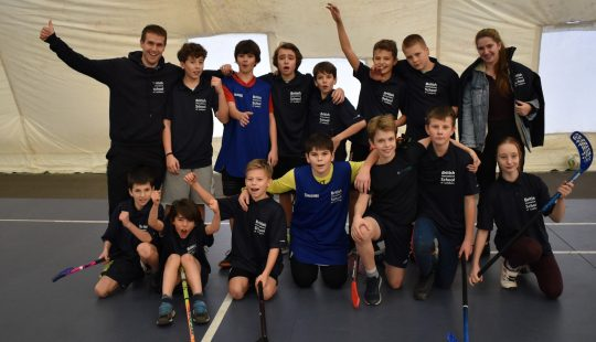 BISL Floorball team promoted into the playoffs!