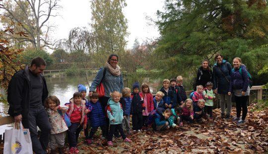 Preschool trip to Arboretum Park