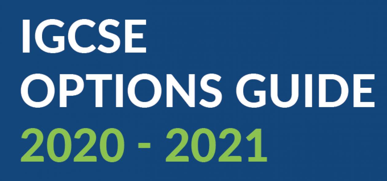 Igcse Options Guide 2020 21 16 9
