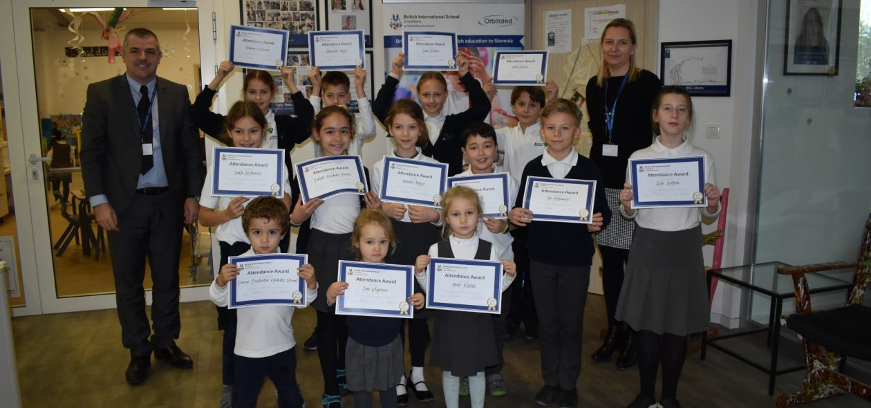 Primary Attendance Awards