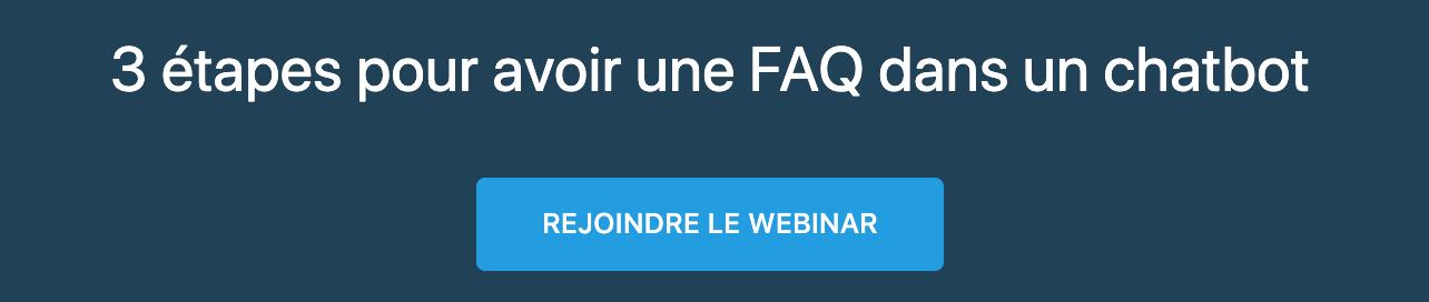 Webinar Chatbot FAQ Dynamique
