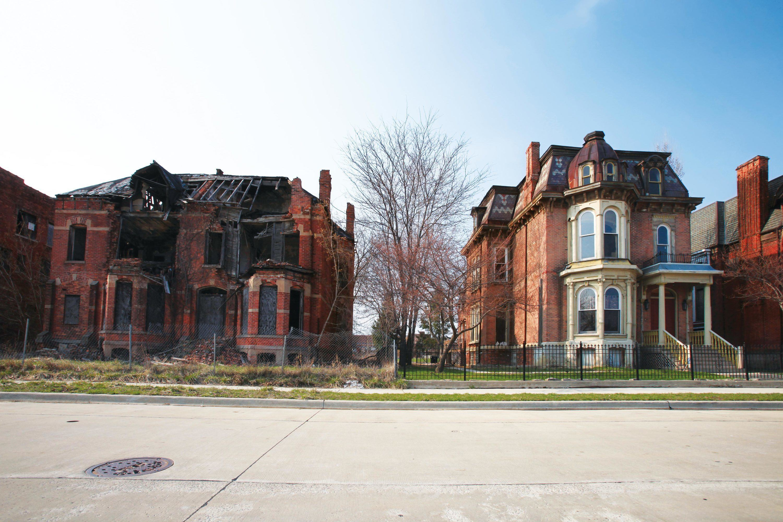 Une ville en crise d troit tats unis image - Immense maison vacances new york ss mm design ...