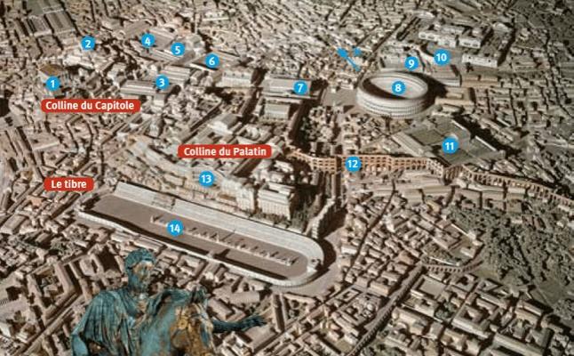 Une visite de l 39 urbs - Comment aller du port de civitavecchia a rome ...