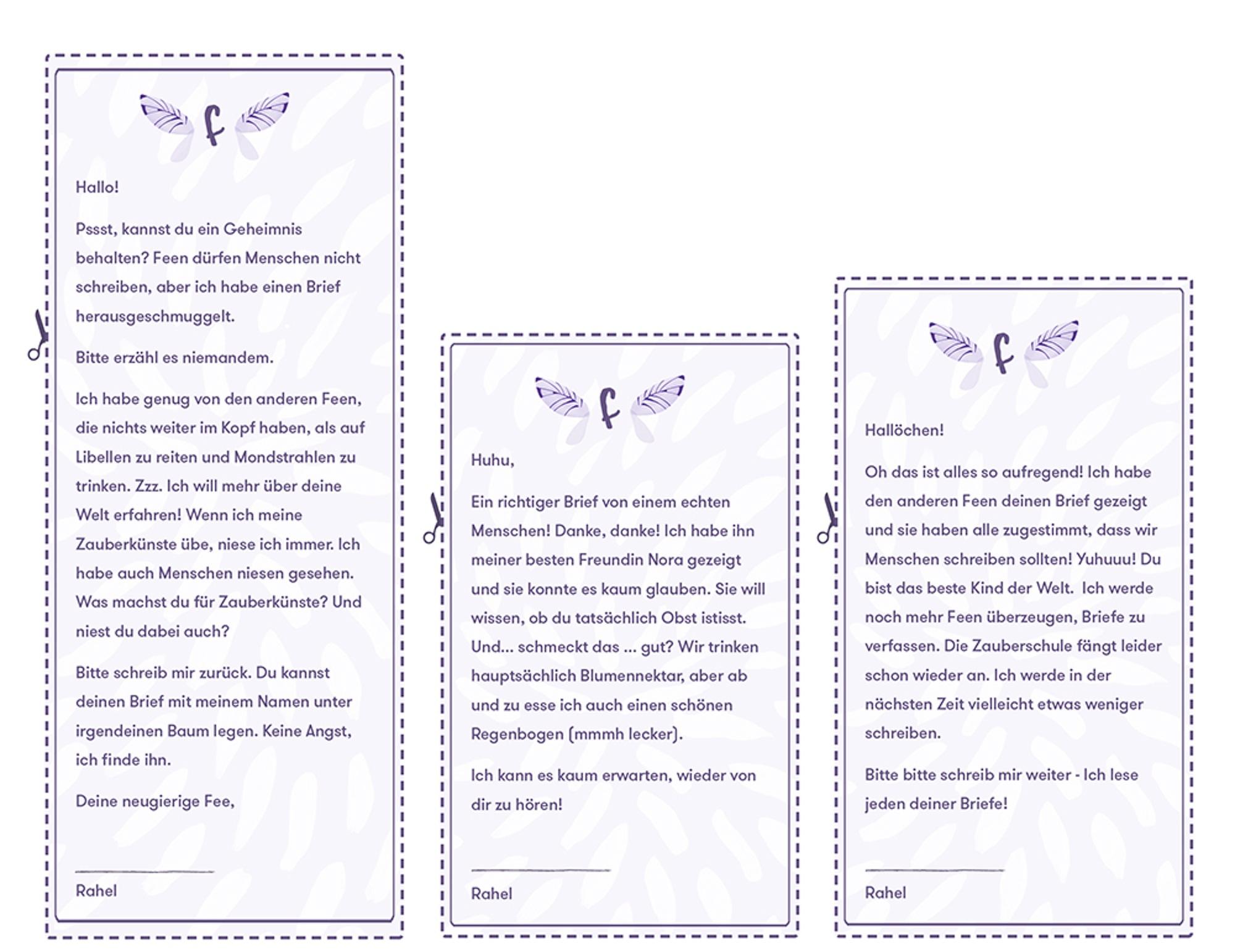 Verschenk eine Fee als Brieffreundin | Wonderbly
