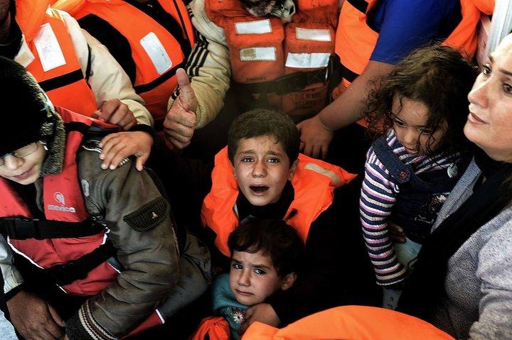 Un barco de rescate para la infancia refugiada