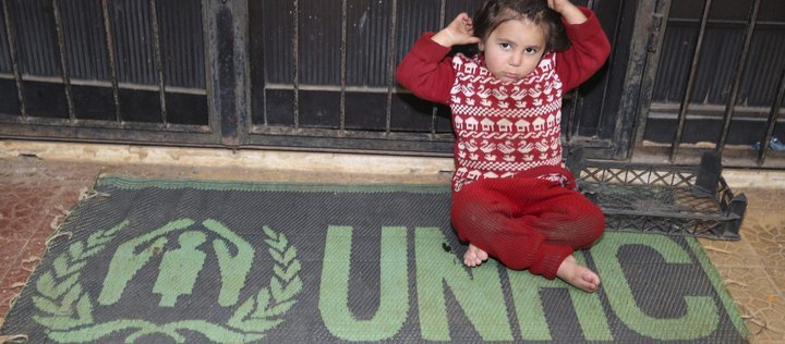 Help the Children and civilians of Aleppo - support UNHCR