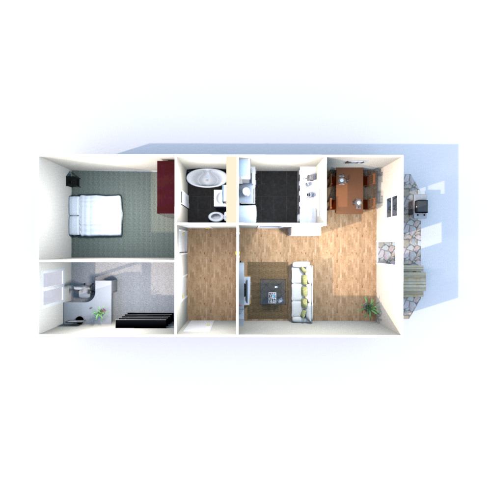 Wohnfläche 69,92 qm