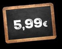 Freddy Fresh Preisschild 599