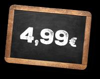 Freddy Fresh Preisschild 499