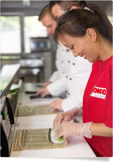 Yoko Sushi Ausbildung welche Inhalte