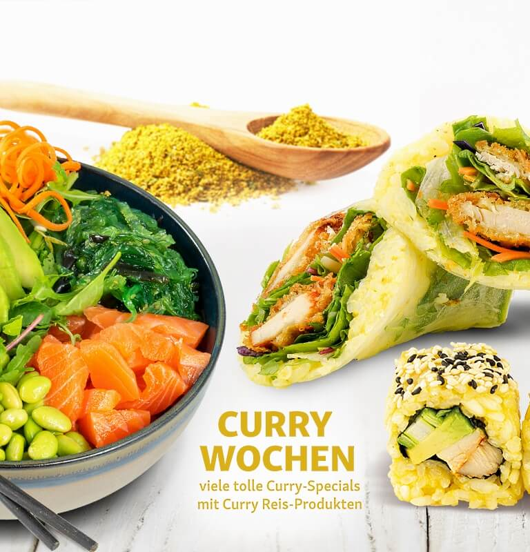 Yoko Aktion Mai 2019 Curry Wochen
