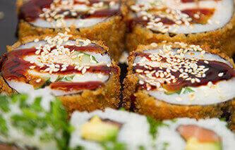 Sushi Qualität in den Yoko Restaurants