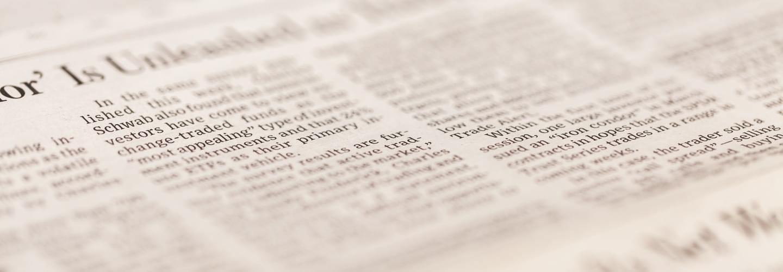 Newspaper article illustrating LunaJets' media coverage